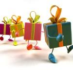 подарки в ряд