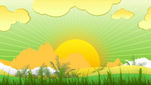 солнышко встает
