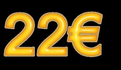 двадцать два евро